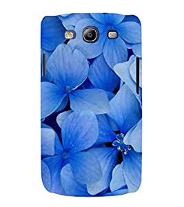 Blue Flowers 3D Hard Polycarbonate Designer Back Case Cover for Samsung Galaxy S3 Neo i9300i :: Samsung I9300I Galaxy S3 Neo :: Samsung Galaxy S III Neo+ I9300I :: Samaung Galaxy S3 Neo Plus