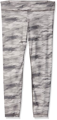 Under Armour Golf Camo (Under Armour Damen Hose UA Perfect Zip Leggings Print, Steeple Gray Hand Painted Camo/Metallic Pewter, XL)