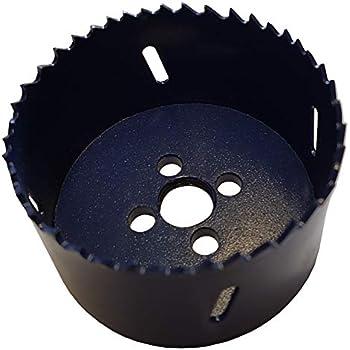 Lochsäge Ø51mm HSS-Bi-Metall Dosenbohrer Bohrkrone Lochkreissäge mit Adapter