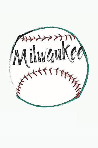 Milwaukee: Wisconsin Baseball Gifts for Men (6x9 Blank Lined Milwaukee Baseball Journal) Milwaukee Wallet