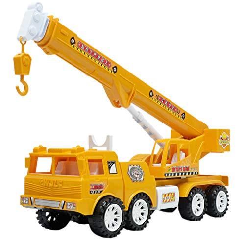 Skryo_ Drohne Teile Skryo Kindersimulationsauto Toy Inertial Engineering Vehicle Bagger Modell Spielzeug (AB)