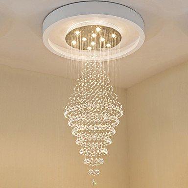 GAG-Kronleuchter@Zeitgenössische LED-Kristall Decke hängende Lichter moderne Kronleuchter zu Hause hängende LED-Beleuchtung Kronleuchter Lampen Leuchten , 220-240v