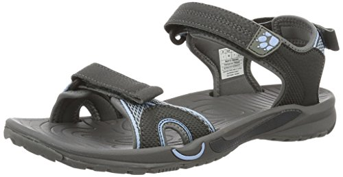 Jack Wolfskin Damen Lakewood Cruise Sandal W Outdoor, Grau (Cool Water), 38 EU