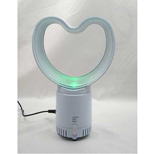 Usb Aromatherapie Leafless Herz-Förmige Fan Super Mini Leise Bunten Lichter Home-Office-Lüfter - L-förmige Home-office