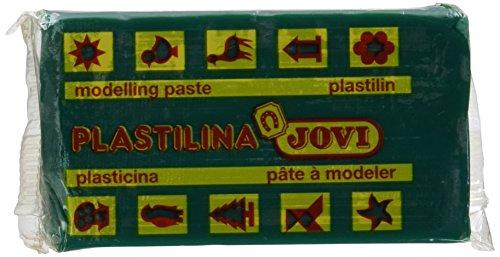 Jovi 70-Knetmasse, dunkelgrün (Plastilina Knetmasse)