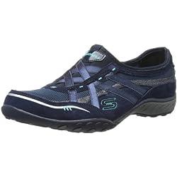 Skechers Breathe-Easy 22451, Sneaker Donna, Blu (Blau (NVY), 38