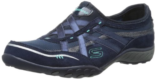 Skechers Breathe Easy - Zapatillas, color Azul Marino, talla 37