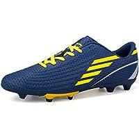 DoGeek Chaussures de Football Adulte Adolescents Entraîneurs de Football FG Profession Athlétisme Entrainement