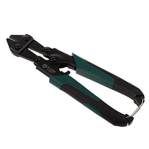 Sharplace Bolzenschneider Fahrradschloss Seitenschneider Stahlschneider Metallschneider - Schwarz, 21 cm