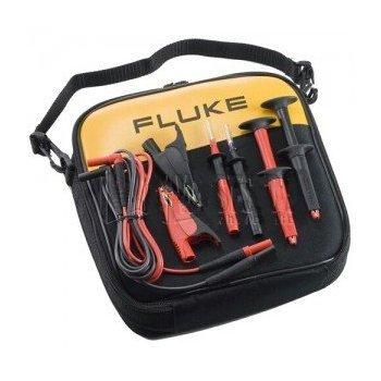 FLUKE noi SureGrip puntali industriale set con sonde, piccoli coccodrilli e portiamo caso-2pk