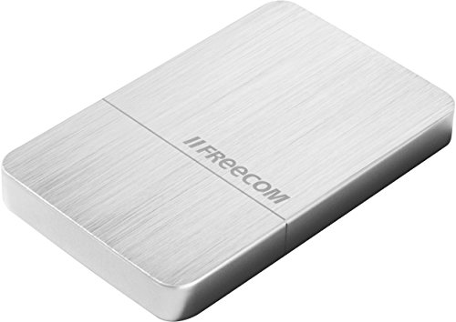 Freecom MSSD MAXX - 512 GB - USB 3.0 / USB 3.1 GEN2 - Superschnelle externe SSD mit hoher Speicherkapazität,gebürstetes Metallgehäuse, 56394