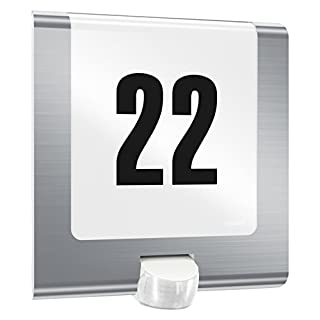 Hausnummer Beleuchtet hausnummern beleuchtet bewegungsmelder heimwerker markt de