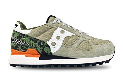 Saucony Sneakers Shadow Original Limited Edition Olive/Black/Orange (8,0 US - EU 41)
