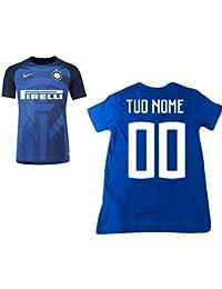 13f2aa2de8ee8 Inter Camiseta prematch escuadra F.C 18 19 Personalizada