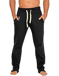Jogging Hose für Herren mit Veri Logo! Weiche Sweathose, Sporthose, Farbe: schwarz