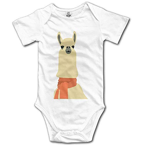 fhcbfgd Llamas Are Awesome Newborn Baby Short Sleeves Romper Bodysuit - Short Sleeve Romper