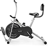 Klikfit Indoor Stationary Air Bike Exercise Cycle for Home Cardio Weight Loss Gym Workout - Pre Installation