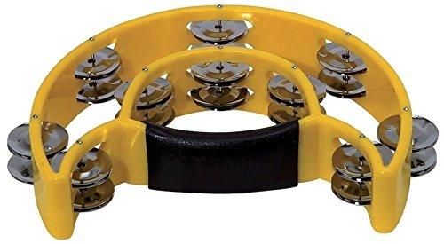 BSX 841575 Schellenring Halbmond (20-Paar verchromte Schellen) gelb