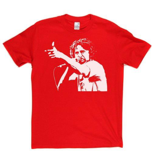 Zack de la Rocha American Rage Metal RATM Tee T-shirt Rot
