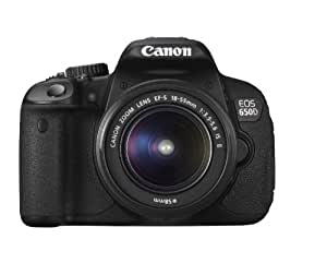 Canon EOS 650D 18.0 MP Digital SLR with EF-S 18-55 IS Kit Lens (Black)