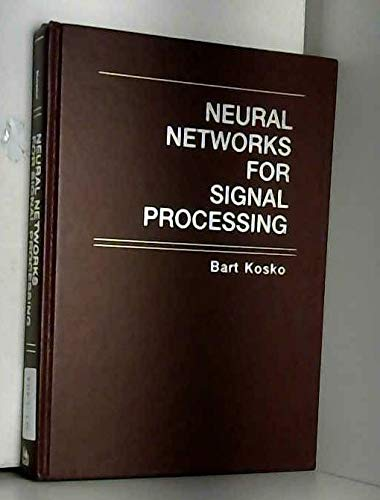 Neural Networks for Signal Processing: Vol II