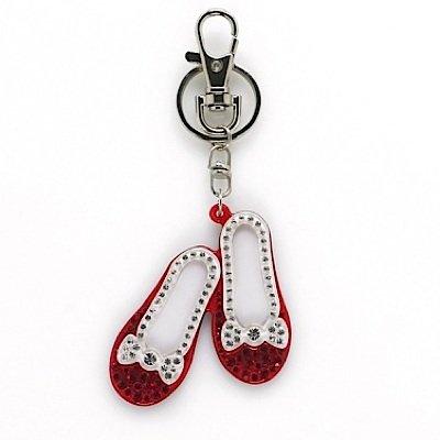 Schlüsselanhänger DOROTHY SHOES (Schuhe Dorothy Glitzer Rote)