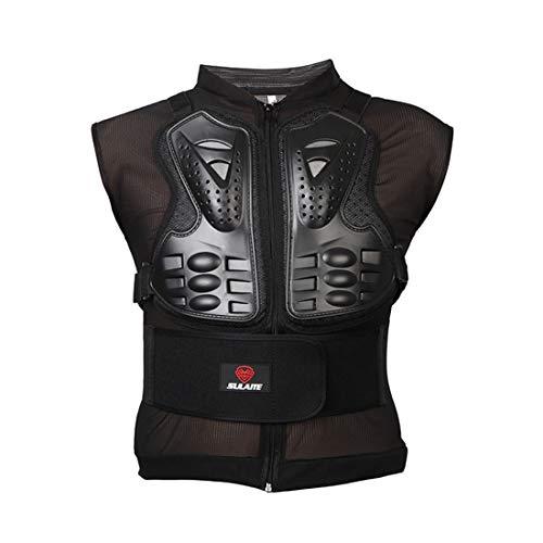 METTE Motorrad-Schutzweste, Sport Motocross MTB Racing Body Armor Protector Rückenschutz Anti-Fall-Atmungsaktive Jacke, Ritter Spezialschutzausrüstung,M