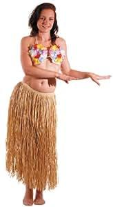 Jupe Raphia naturel longue 80cm