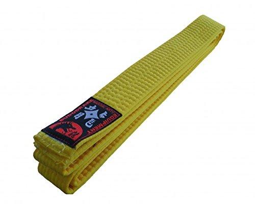 Karategürtel Judogürtel Taekwondogürtel gelb