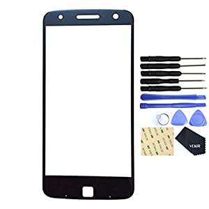 VEKIR Glass Repair Screen für Motorola Moto Z Droid (schwarz)