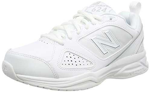 New Balance WX624WS4 - Scarpe Sportive Indoor Donna Bianco (White)