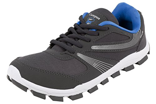 Action Campus Women's Grey Sky Blue Colour Synthetic and Nylon Mesh Sports Shoes 4UK  available at amazon for Rs.377