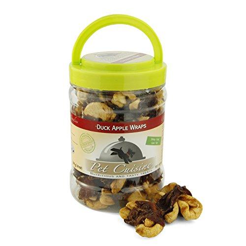 Pet Cuisine Nature Hundesnacks Hundeleckerli Kausnacks, Apfel & Entenfleisch Hundekuchen Kekse, 340g - 4
