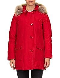 Abbigliamento cappotti it e Giacche woolrich Donna Amazon Rosso Bw0nFqRFS