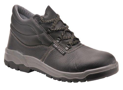 Portwest Steelite Safety Boot S1, Chaussures sécurité homme Schwarz