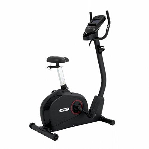 Spirit Upright Bike DBU 60 – Heimtrainer, Fitness Indoor Bike, Ergometer mit Hand-Puls-Sensoren - 2