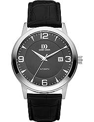 Danish Design - IQ14Q1083 - Montre Mixte - Automatique - Analogique - Bracelet cuir noir