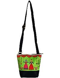 The Great Indian Mela Katputli Couple Messenger Sling Bag