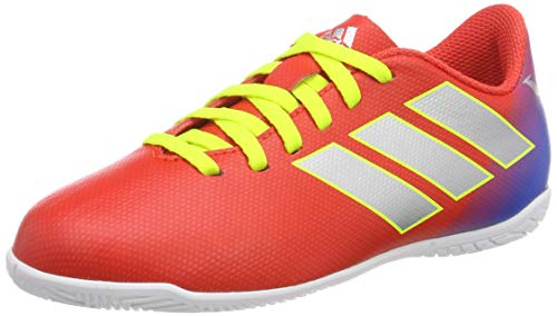 the best attitude 55b3b 3a74d Adidas Nemeziz Messi 18.4 in J, Zapatillas de Fútbol para Niños, Rojo  Active Red