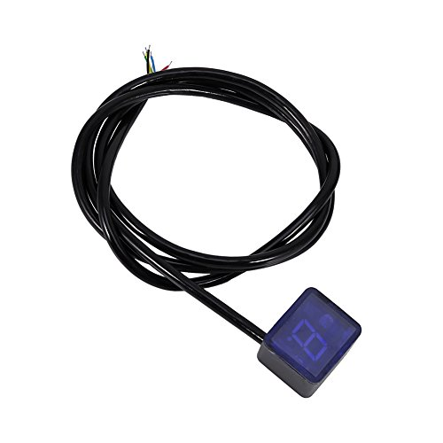 Impermeable Universal Impermeable Digital Gear Indicador de Moto Pantalla LED Palanca de...