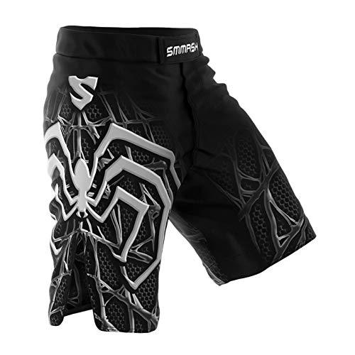 SMMASH Shorts Boxen Kampfsport MMA BJJ UFC (Venomous, L)