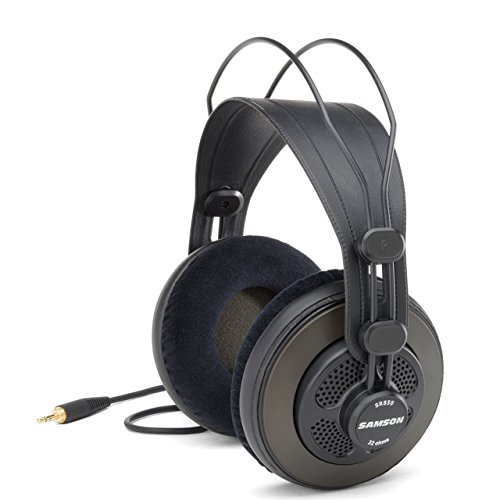 41MAEcppkgL - BEST BUY #1 Samson SR850 Professional Studio Reference Open Back Headphones Reviews and price compare uk