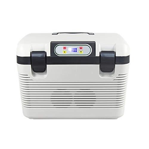 CZSM Auto nach Hause Kleiner Kühlschrank mit kleinem Verwendungszweck, 19L Kapazität, Mini-Dual-Core-Einzelkühlgerät, ABS-Material ! (Style : Four Keys) - Doppel-tür Kompakt Kühlschrank