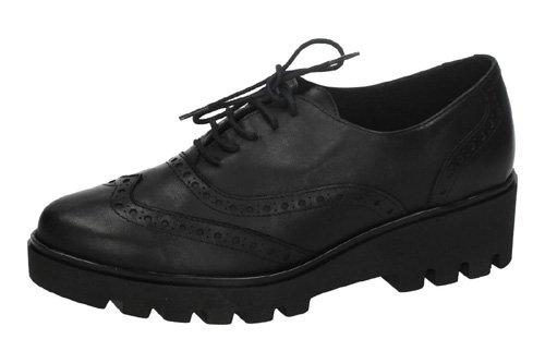 Aback , Chaussures bateau pour femme Noir
