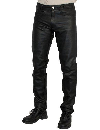 ROLEFF Pantaloni in pelle Racewear, negro, 46