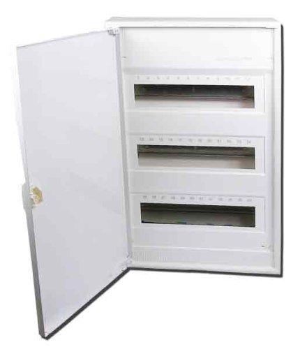 Preisvergleich Produktbild Hager VA 36 CN Aufputz-Kleinverteiler - mit Tür