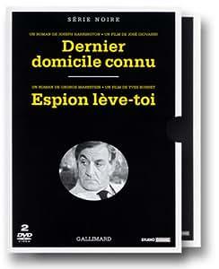 Coffret Série Noire 2 DVD : Dernier domicile connu / Espion lève-toi