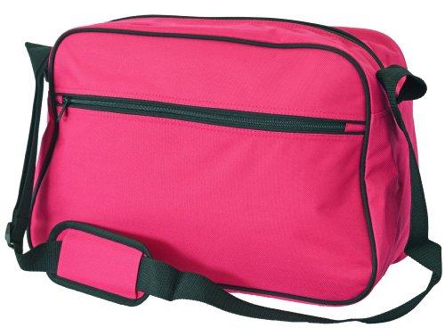 Eurobags Messengerbag, in 10 Farben Rosa - Hot Pink