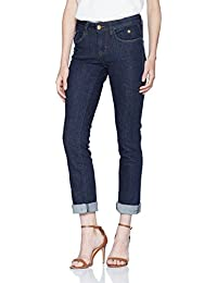 TOM TAILOR Damen Jeans Alexa Straight Rinsed