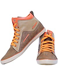 Shoe Fit Brown Casual Shoes For Men - B01NAHQMYJ